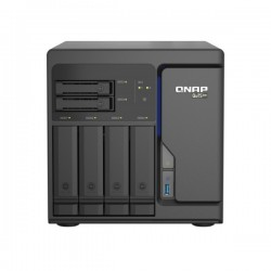 TS-H686-D1602-8G-US QNAP 6 Bay Desktop NAS 2.5GHz Intel Xeon D-1602 Dual-core 8GB ECC RAM - No HDD