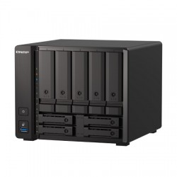 TS-H973AX-32G-US QNAP 9 Bay Desktop NAS 2.2GHz AMD Ryzen V1500B quad-core 32GB RAM - No HDD