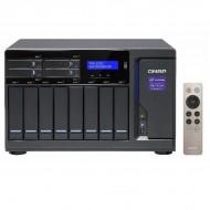 TVS-1282-i3-8G-US QNAP 12-Bay Desktop NAS/iSCSI 3.7 GHZ Intel Core i3-6100 8GB RAM - No HDD