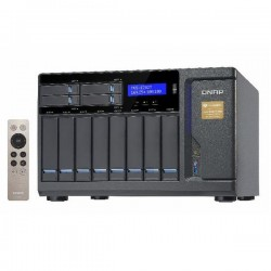 TVS-1282T-i5-16G-US QNAP 12-Bay Desktop DAS/NAS/iSCSI 3.6 GHZ Intel Core i5-6500 16GB RAM - No HDD