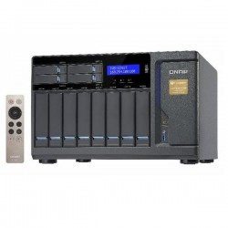 TVS-1282T-i7-32G-US QNAP 12-Bay Desktop DAS/NAS/iSCSI 3.4 GHZ Intel Core i7-6700 32GB RAM - No HDD