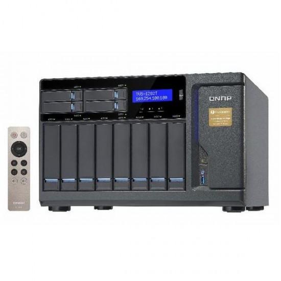 TVS-1282T-i7-64G-US QNAP 12-Bay NAS 3.4 GHz Intel Core i7-6700 Quad-core Processor 64GB RAM - No HDD