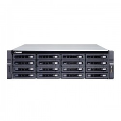 TVS-1272XU-RP-i3-4G-US QNAP 12-Bay Rackmount NAS 3.6 GHz Intel Core i3-8100 4-core 4GB RAM - No HDD