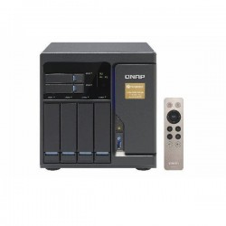 TVS-682T-i3-8G-US QNAP 6-Bay Desktop DAS/NAS/iSCSI 3.7 GHz Intel Core i3-6100 8GB RAM - No HDD
