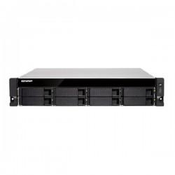 TVS-872XU-i3-4G-US QNAP 8-Bay Rackmount NAS 3.6 GHz Intel Core i3-8100 4-core 4GB RAM - No HDD