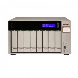 TVS-873e-8G-US QNAP 8-Bay Desktop NAS/IP-SAN 2.1 GHZ RX-421BD Quad-core 8GB RAM - NO HDD