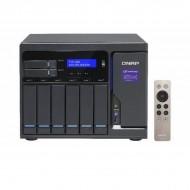 TVS-882-i5-16G-US QNAP 8-Bay Desktop NAS/iSCSI 3.6 GHz Intel Core i5-6500 16GB RAM - No HDD