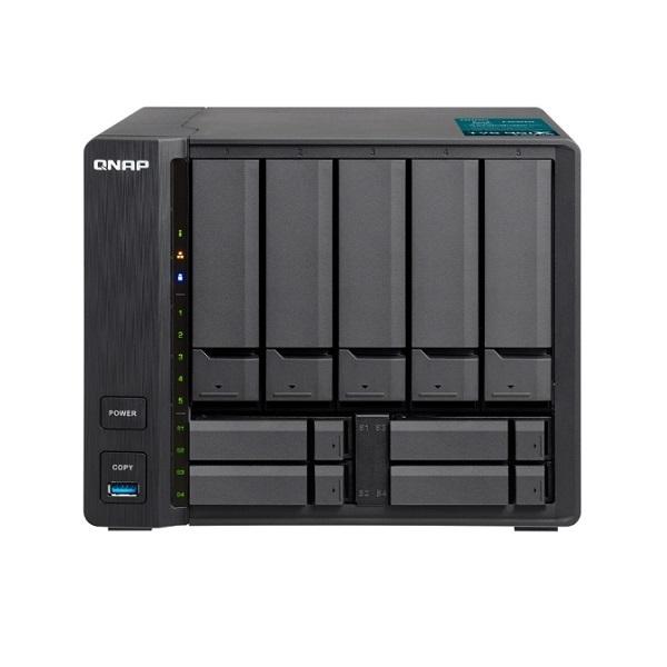 TVS-951X-8G-US QNAP 9-Bay NAS 1.8GHz Intel Celeron 3865U Dual-core 8GB RAM - No HDD