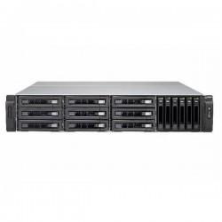 TVS-EC1580MU-SAS-RP-16G-R2-US QNAP 15-Bay Rackmount NAS and iSCSI/ IP-SAN 3.5 GHZ Intel Xeon E3-1246 v3 16GB RAM - No HDD