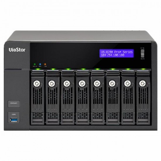 VS-8232-PRO+-US QNAP 32 Channel NVR 450Mbps Max Throughput - No HDD